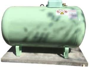 Flüssiggasanbieter mit oberirdischen und unterirdischen Gastanks