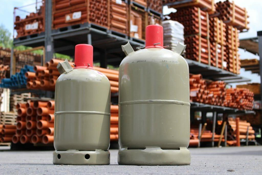 Flüssiggas Gasflasche