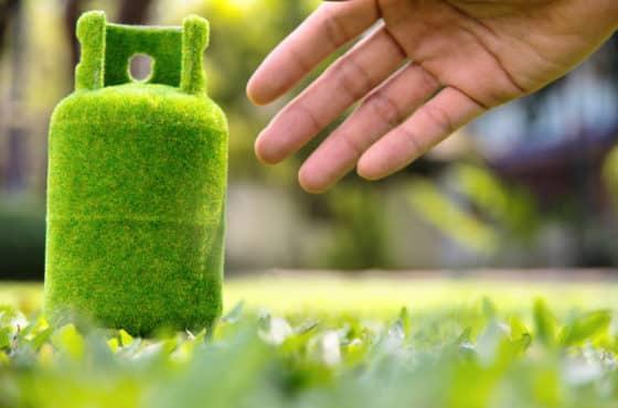 Hybridheizung kombiniert Flüssiggas und erneuerbare Energien