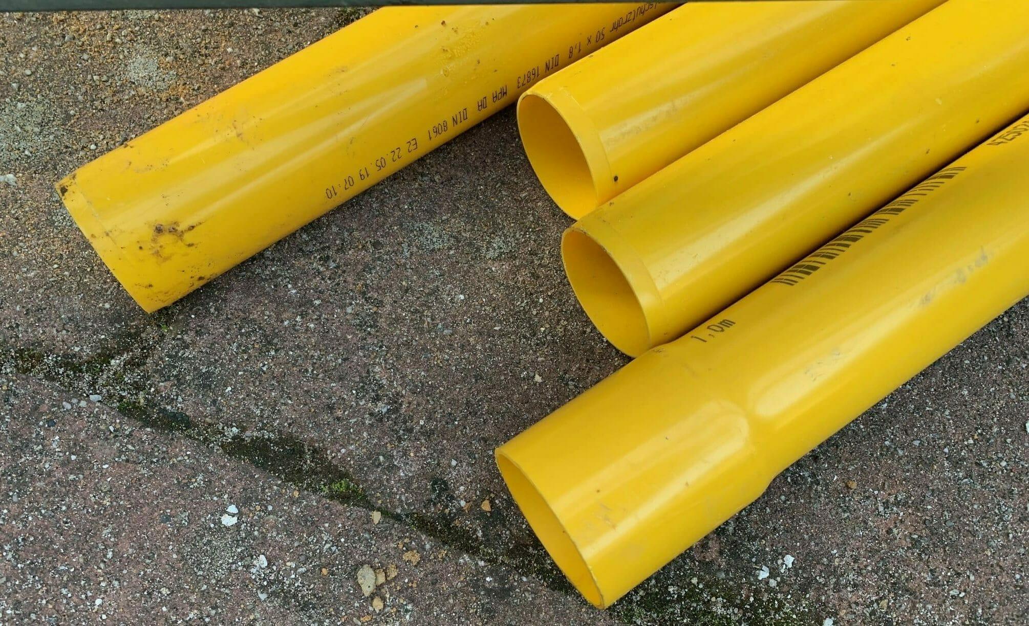 PE Schutzrohr für Flüssiggasanlage