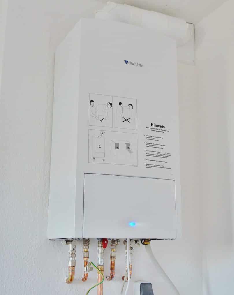 Gas-Durchlauferhitzer für Propangas