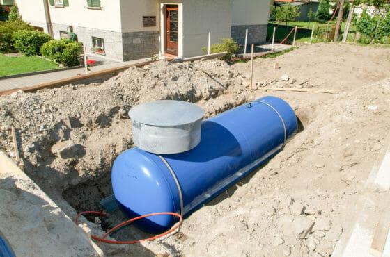 KKS-Anlage zum Korrosionsschutz unterirdischer Flüssiggastanks