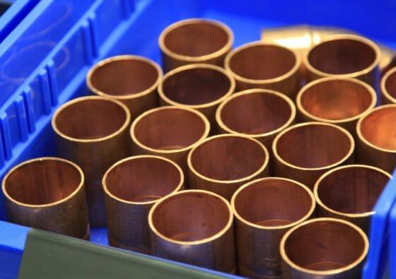 Gasrohrnetzberechnung zur Dimensionierung der Kupferrohre für die Flüssiggasanlage