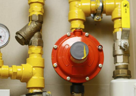 Installation einer Flüssiggasanlage
