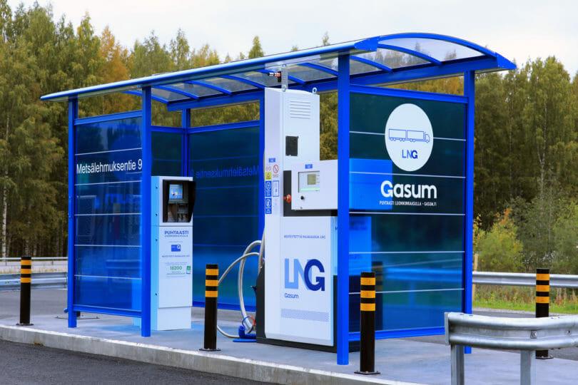 LNG Tankstelle