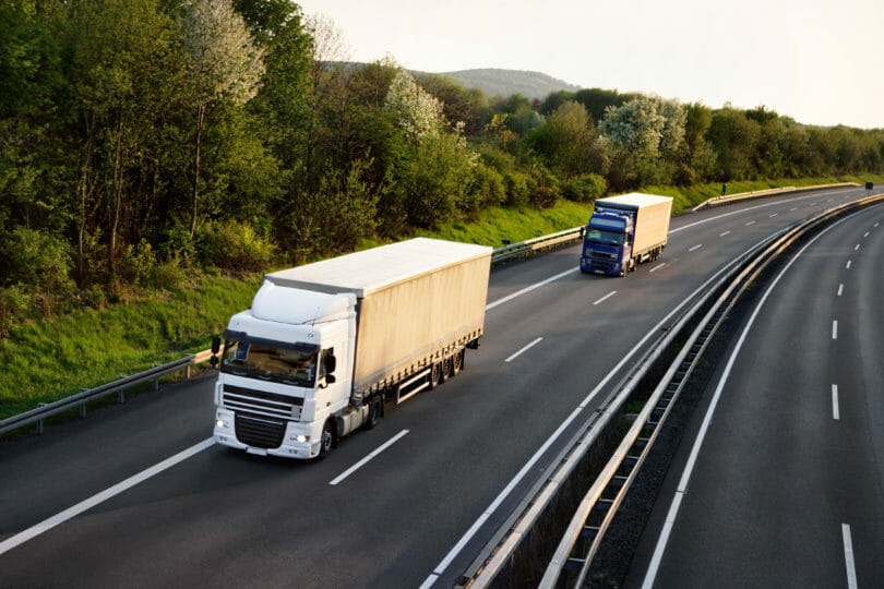 LNG LKW oder Diesel LKW