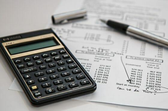 Taschenrechner um Flüssiggas Steuern zu berechnen