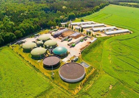 Biogasanlage für Bio LPG