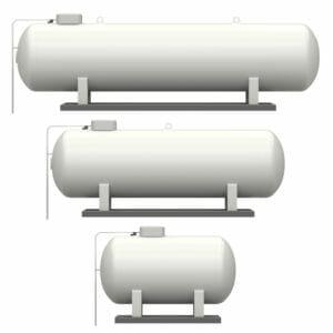 Flüssiggastanks zum Kaufen Größen im Vergleich