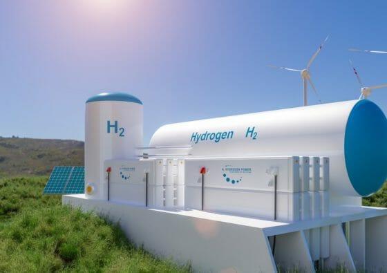 Wasserstofftank
